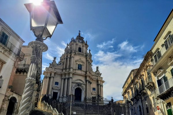 The baroque main church in Ragusa IBla